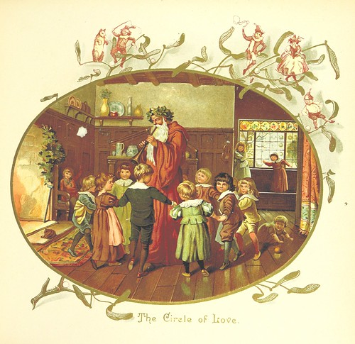 Image taken from page 17 of 'The Coming of Father Christmas'
