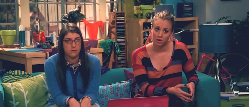 Penny y Amy piensan en sus novios