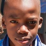Namibian School Boy, Portrait - Spitzkoppe, Namibia