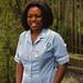 Linda Charming Nurse from Zimbabwe at Belsize Park London Aug 30 1999 011