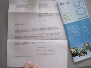 Picture of our letter