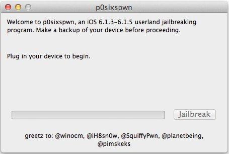 непривязанный джейлбрейк iOS 6.1.3