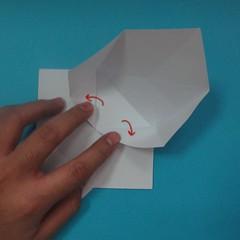 วิธีการพับกระดาษเป็นนกเพนกวิ้น 010