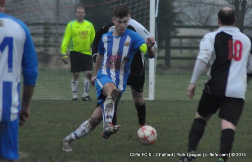 Cliffe FC 5 - 2 Fulford 4Jan14