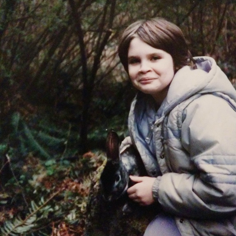 The mid-80s were not an attractive time for me and my rabbit.