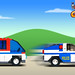 Inspector Gadget - Van to police sports car transformation by LegoJalex