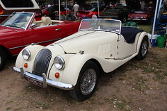 jaguar xk140(0.0), touring car(0.0), jaguar xk150(0.0), automobile(1.0), morgan +4(1.0), vehicle(1.0), morgan plus 8(1.0), antique car(1.0), classic car(1.0), vintage car(1.0), land vehicle(1.0), luxury vehicle(1.0), convertible(1.0), sports car(1.0),