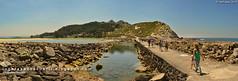 Pasarela entre Islas (Illas Cíes, Galicia)