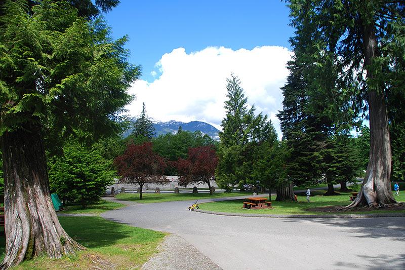 Shannon Falls Provincial Park, Squamish, Sea to Sky, British Columbia, Canada