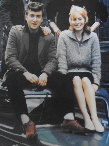 John_and_Cynthia_on_car