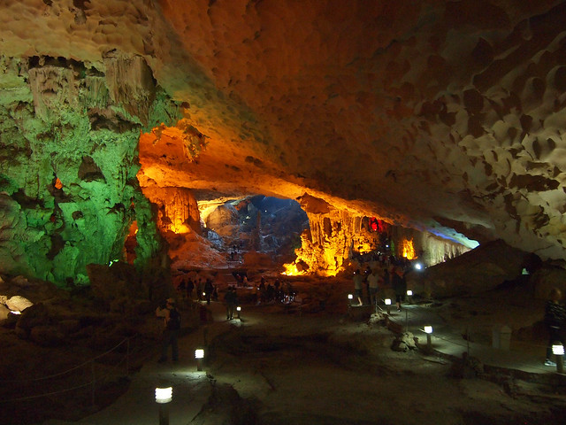 Ha Long Bay cave