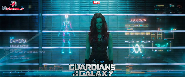 Zoë Saldaña in Gamora | Guardians Of The Galaxy