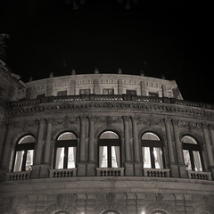 (Certo Dolly 1935) Dresden Klassik, Semperoper am Abend - Opera in the evening