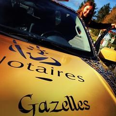 Découverte à Plouay du Isuzu DMAX aux couleurs #notairesgazelles