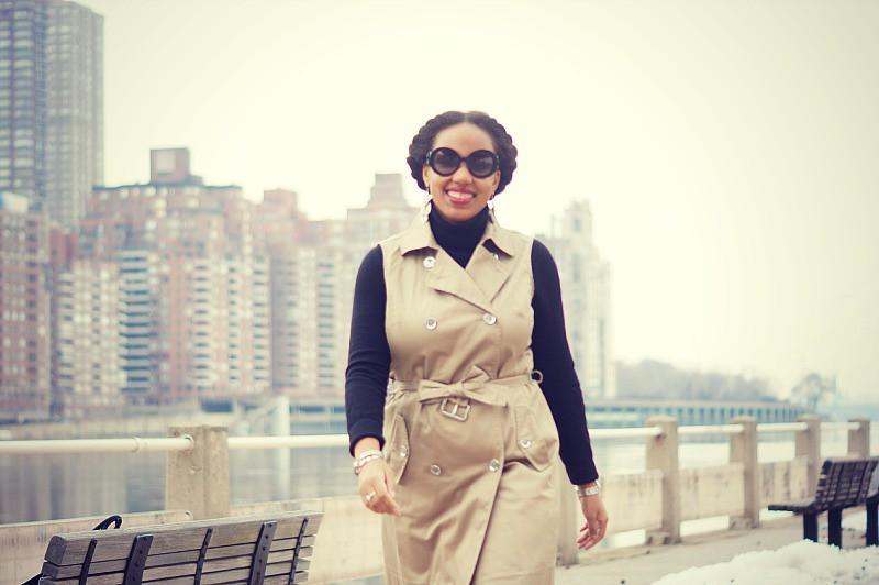 Trench Coat Dress3