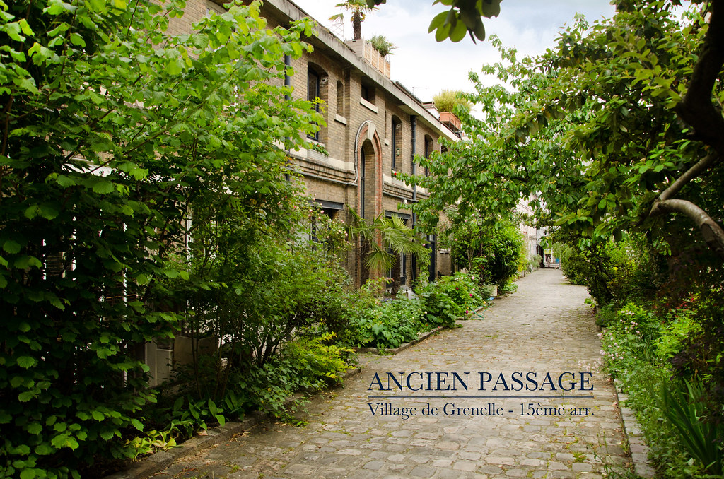 Ancien passage du village de Grenelle