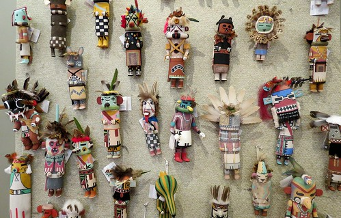 Old Style Kachinas, Gift Shop, Heard Museum, Phoenix, Arizona
