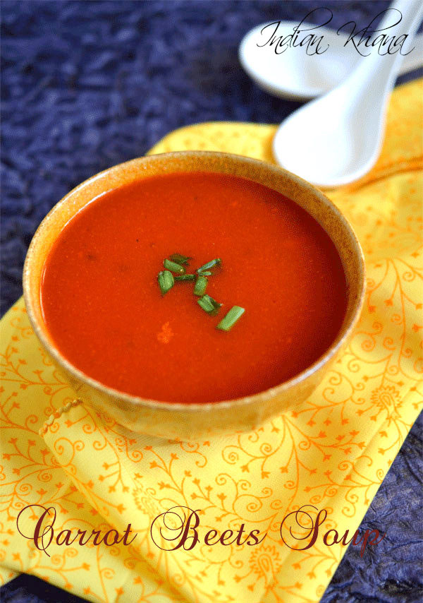 Carrot Beetroot Soup
