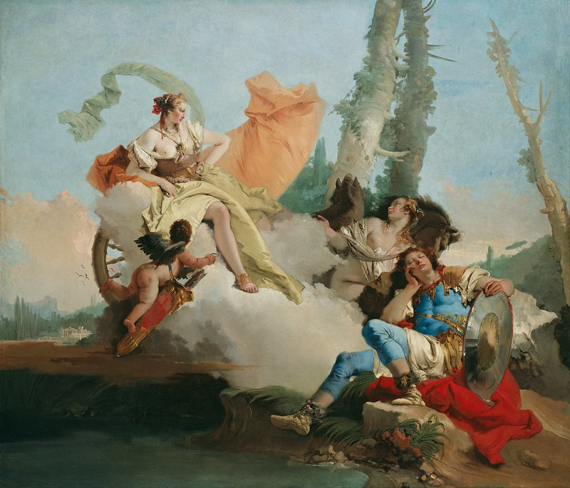 Giovanni Battista Tiepolo - Rinaldo Enchanted by Armida (c.1742)