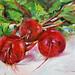 Olieverf Rode bietjes