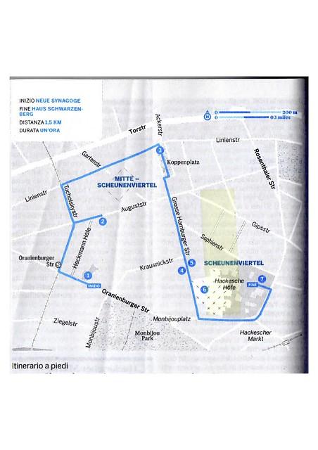 Berlino ebraica: il mio percorso