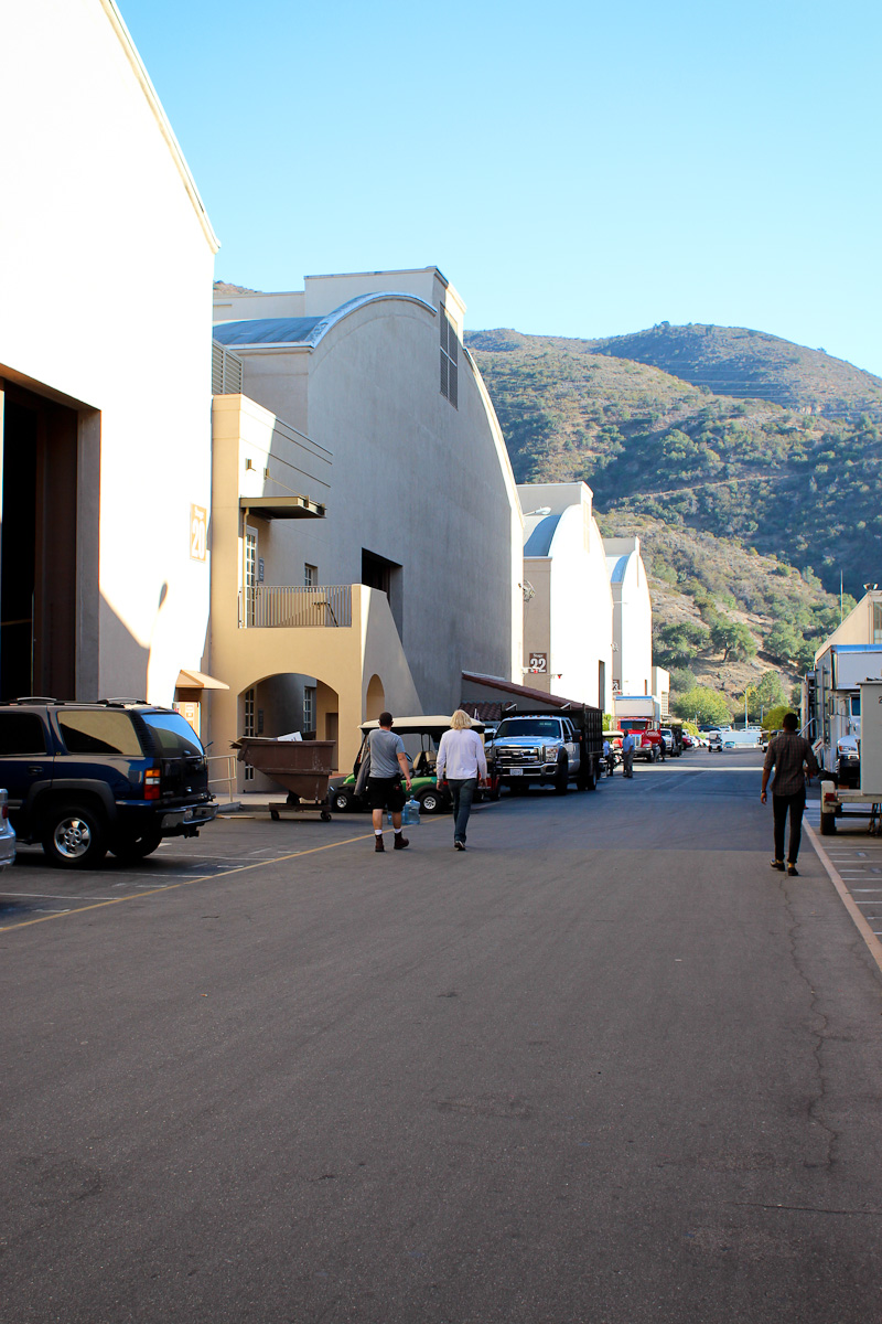 Warner Brothers studios VIP Tour, Los Angeles