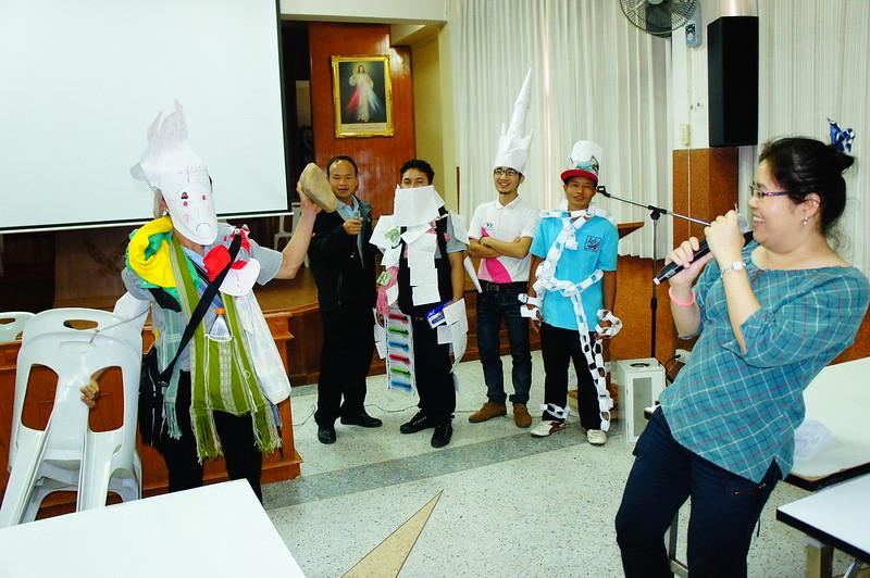 สัมมนาเตรียมค่ายคำสอนสังฆมณฑลเชียงใหม่ 2014