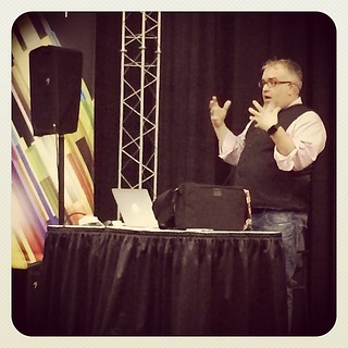 @zarias talking street photography @ Photoshop World #psw14