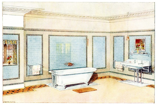 early 20th century room design