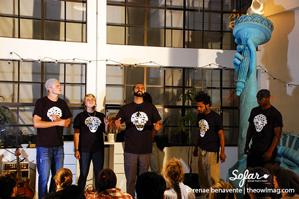 The Oakland Mind @ Sofar Sounds, SF 5/19/14