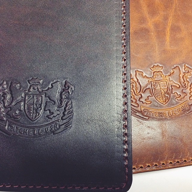 Mitchell Leather @FieldNotesBrand journal covers  #fieldnotes #stationery #notebooks #leather #usamade #madeinusa