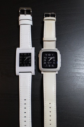 Pebble and Pebble Time