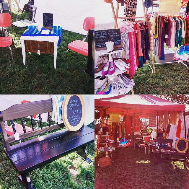We are @thecityflea and #theoffmarket today. Come to one, come to both. Great deals all around