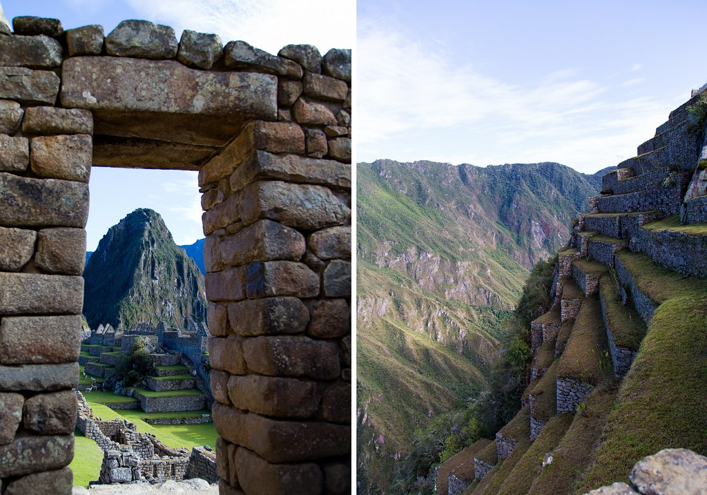 Machu Picchu - one year ago1