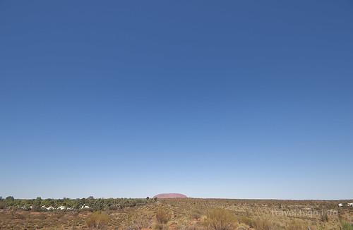 【写真】世界一周 : エアーズロック、オルガ山(イマラング展望台より)