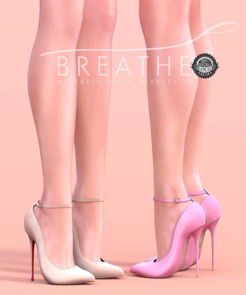 [BREATHE]-Amanda Heels - SecondLifeHub.com