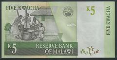 Malawi - 5 Kwacha P 36b (2004)