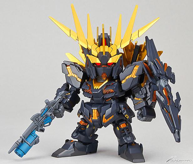 SD鋼彈 EX-STANDARD 015 《機動戰士鋼彈UC》獨角獸鋼彈2號機 「報喪女妖·命運女神」 バンシィ・ノルン