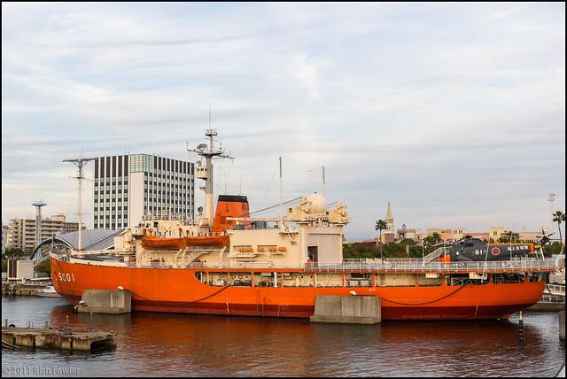 Retired Icebreaker Fuji