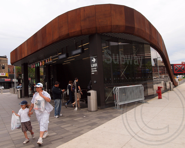 Atlantic Avenue Barclays Center Subway Station Brooklyn New York City Flickr Photo Sharing