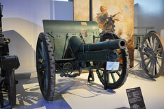 German 75mm Export Gun WW1