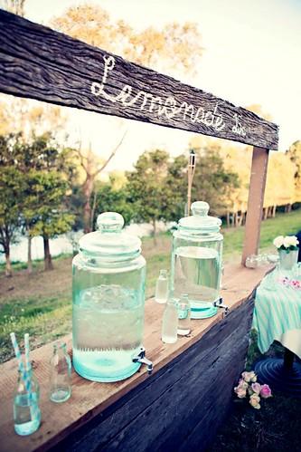Lemonade stand.