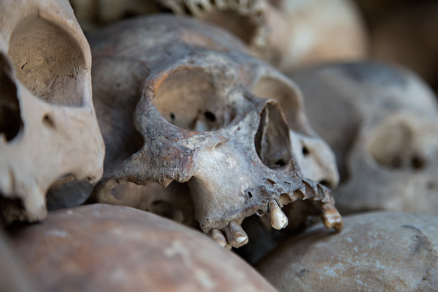 The Killing Fields near Phnom Penh, Cambodia.