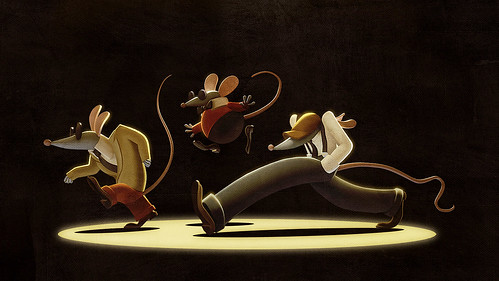 Diggs Nightcrawler: Three Blind Mice