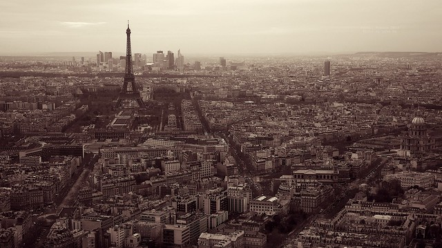 Paris skyline, France