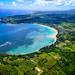 Hanalei Bay Kauai by Christian Arballo