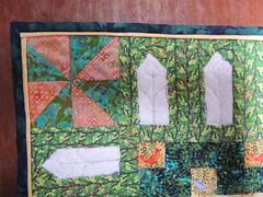 Anne's quilt detail