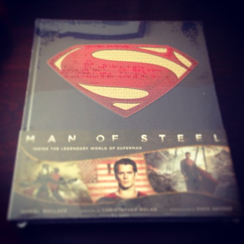 """Man of Steel: Inside the legendary world os Superman"""