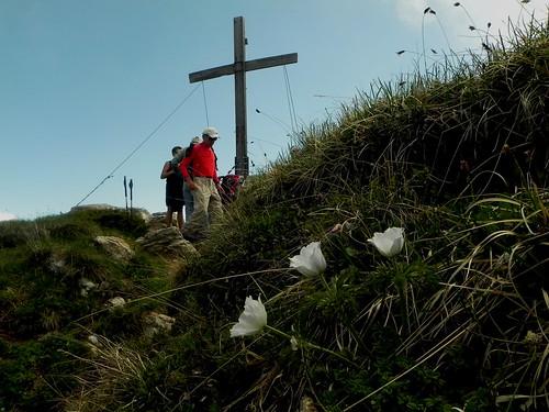 Arrivée à la Croix de la Dent du Villard