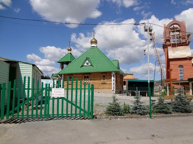 Church of St. Catherine in Chelyabinsk, Russia